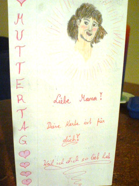 Muttertagskarte 2