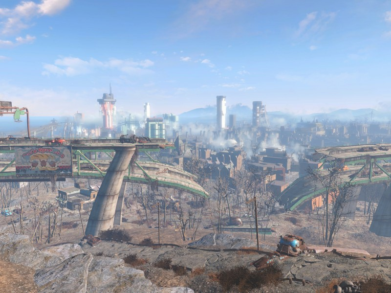 Diamond City Skyline