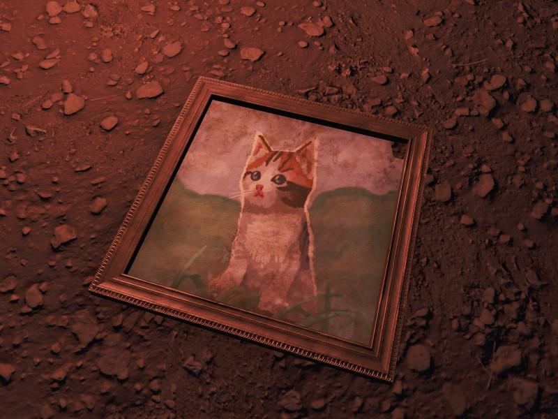 Katzenmalerei