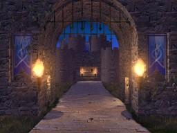 Burg bei Nacht - neue Version