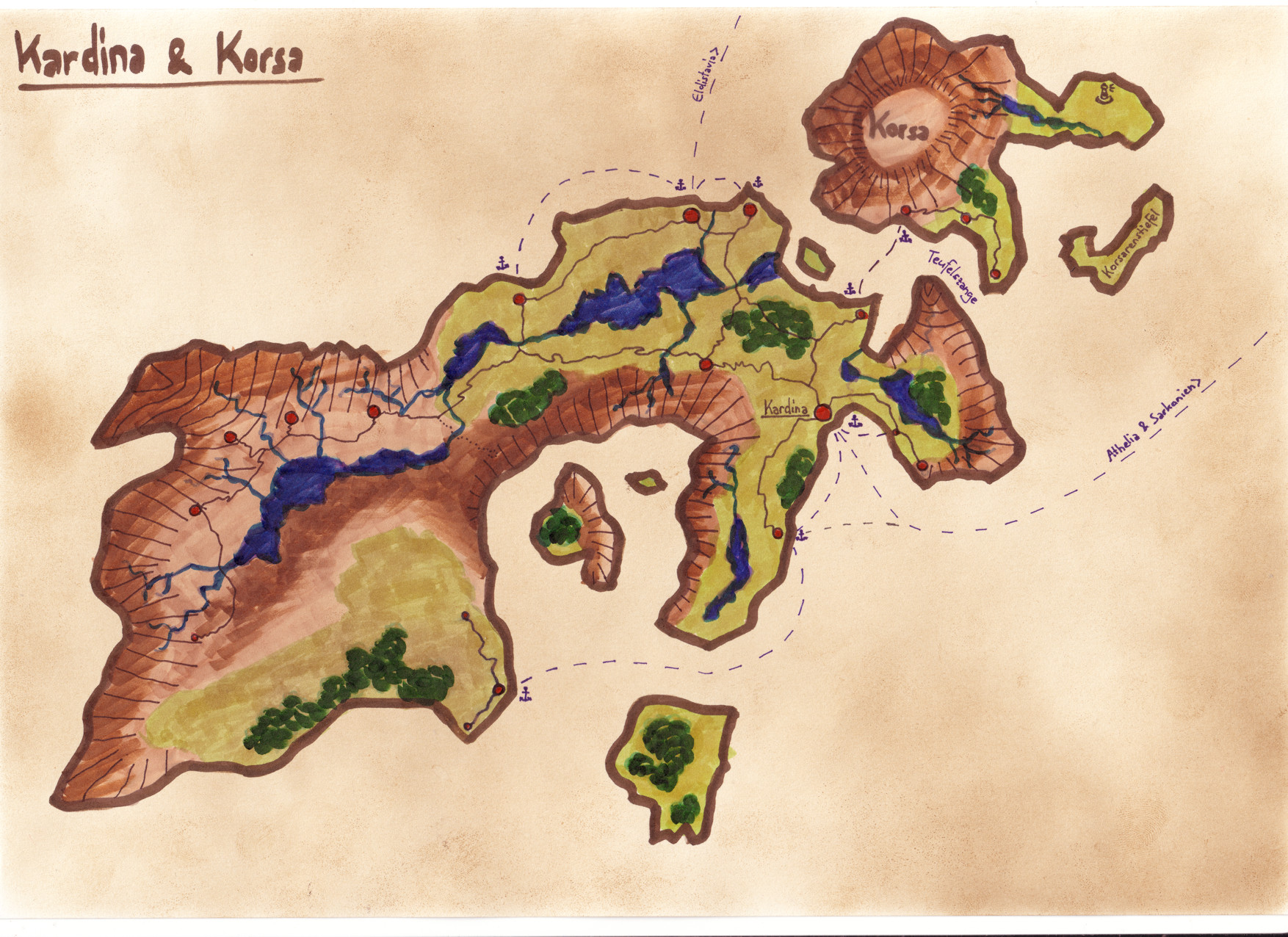 Kardina und Korsa