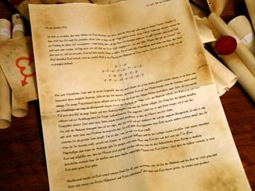 Brief von Silmodon